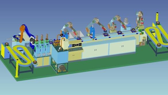 化纤喷丝板全自动智能清洗系统
