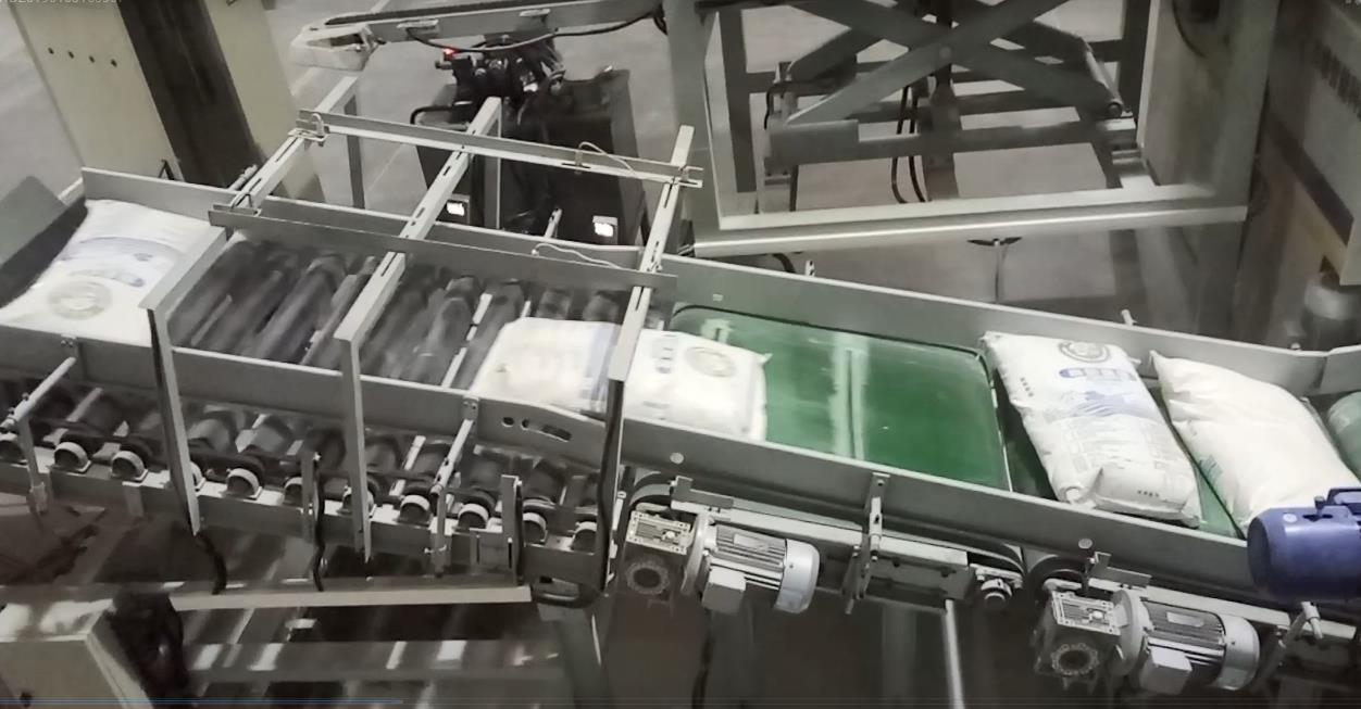 袋装物料拆垛专机