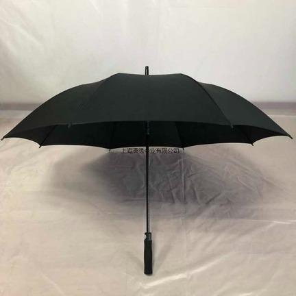 长柄自动商务伞 防洪救灾伞 大号直柄晴雨伞高尔夫伞制作厂家 有检测报告的工厂
