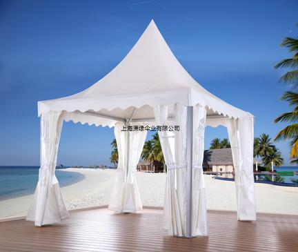 欧式尖顶篷房定做厂家 3米 4米 5米 6米 7米 钢架 铝合金架制作