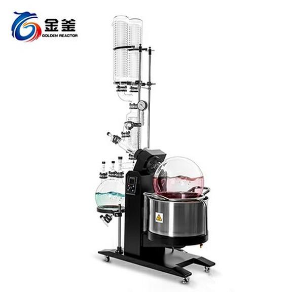 雙冷雙接收電動旋轉蒸發器RE50-2CC