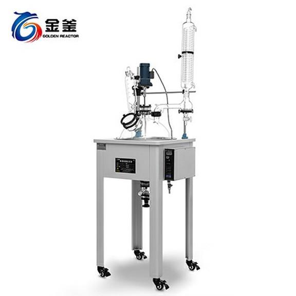 單層玻璃反應釜 F10-50L