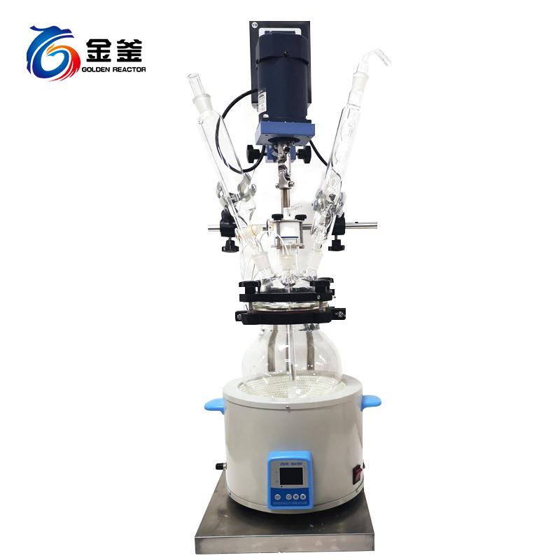 1-5L电热套型单层玻璃反应釜