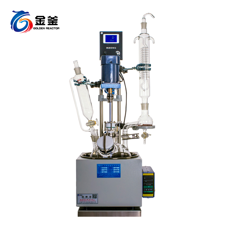 F系列1-5L一体型单层玻璃反应釜