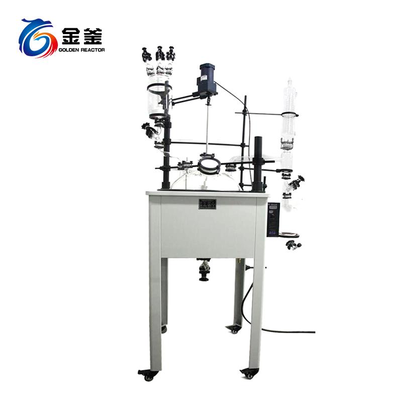 喷四氟型单层玻璃反应釜