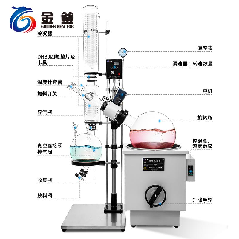 RE-5002 10-50L手动旋转蒸发器