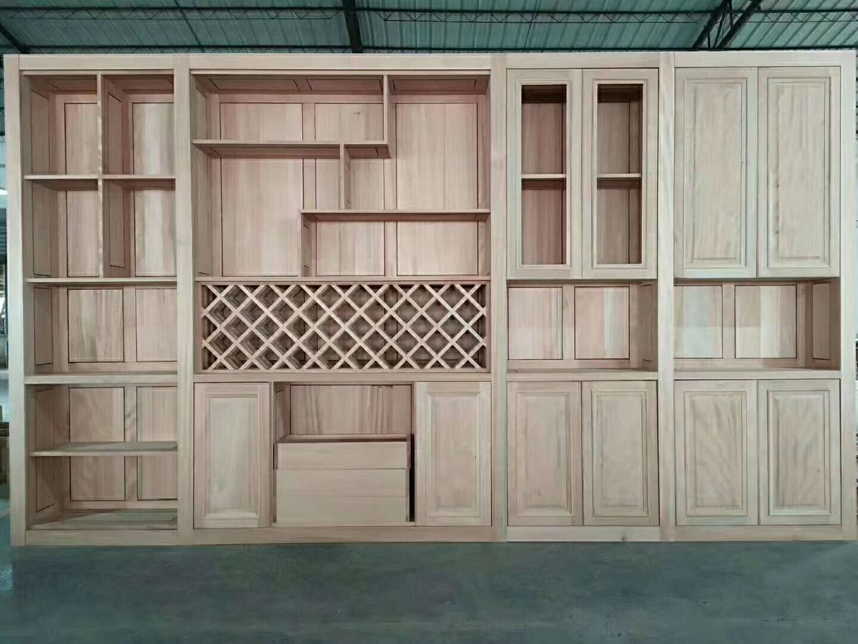 原木衣柜厂-柜子