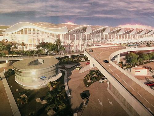 阿尔及尔机场新航站楼幕墙工程