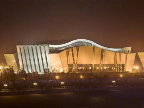 琴台文化艺术中心二期 音乐厅幕墙工程