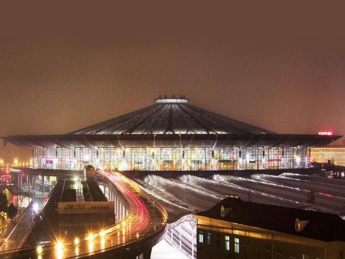 上海铁路局跌路南站屋面