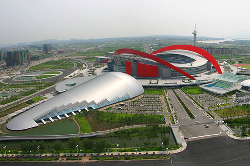南京奥林匹克体育中心工程