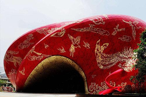 广州万达文化旅游城秀场