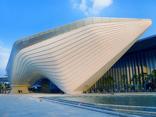 珠海十字门商务组团入口 及城市绸带项目