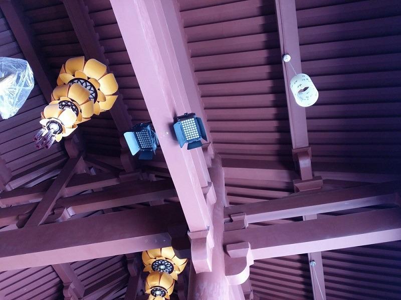 景区寺庙灯光工程改造