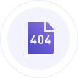 支持自定义404页面,引导用户继续浏览网 站,提高用户体验,减少跳出率