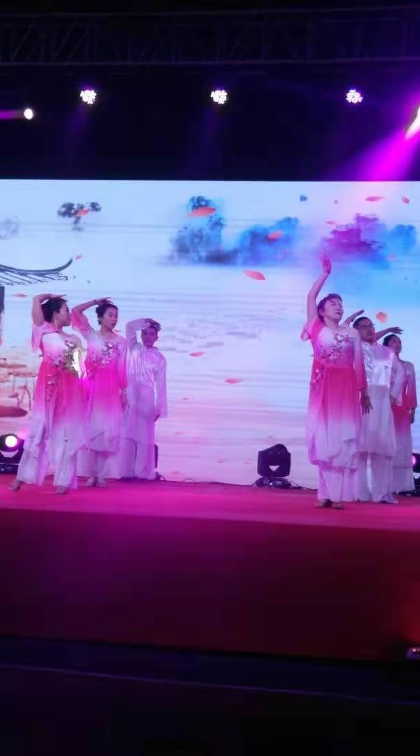 达州风华职校教师舞蹈1