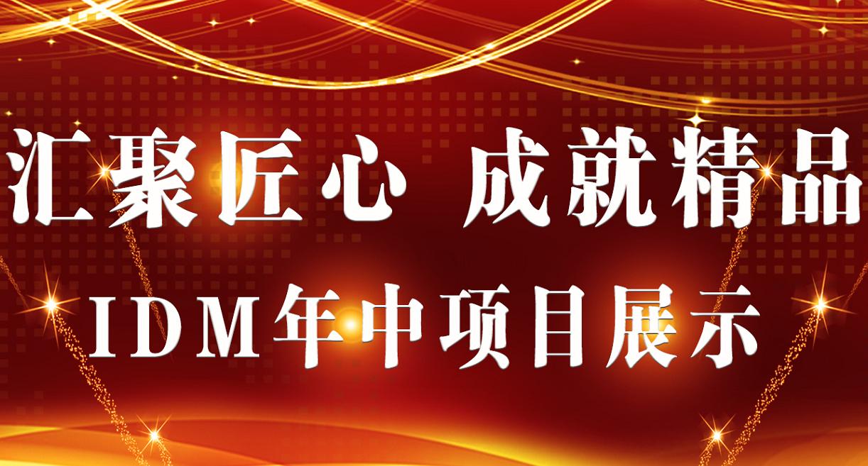 【IDM年中项目展示】汇聚匠心,成就精品