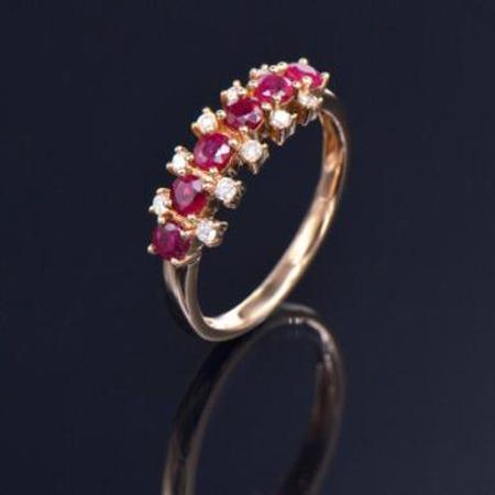 红宝石戒指 AXR007