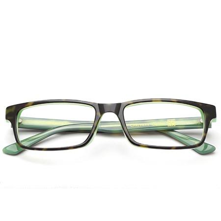 Green Rectangle eyeglasses P6000105