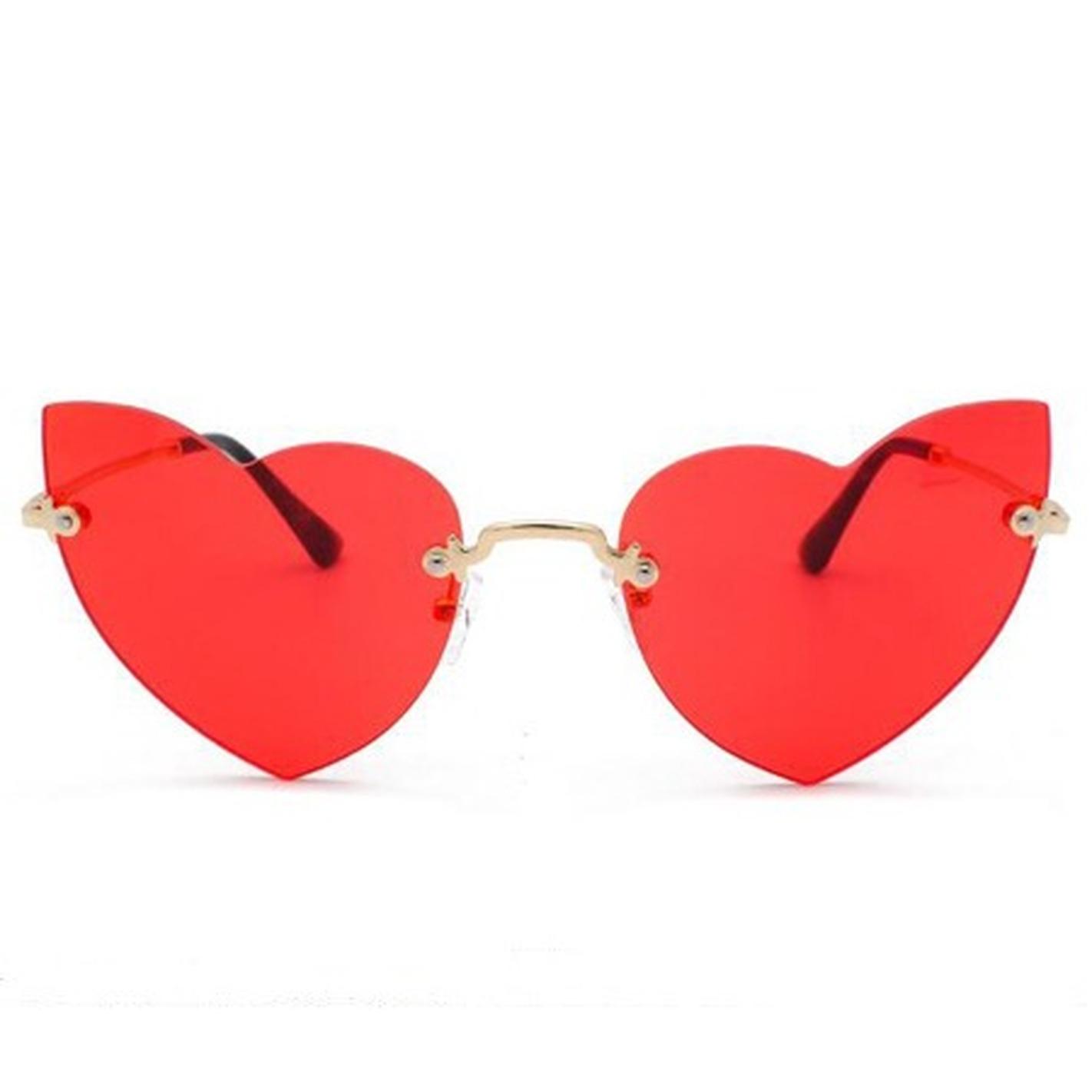 玛格丽特正红爱心太阳镜 SF60021