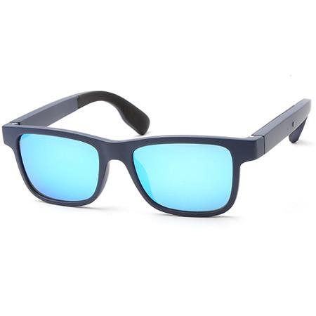 炫彩蓝骨传导蓝牙眼镜