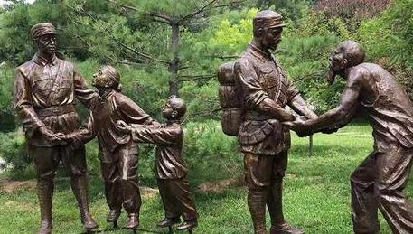個性景觀鑄銅雕塑