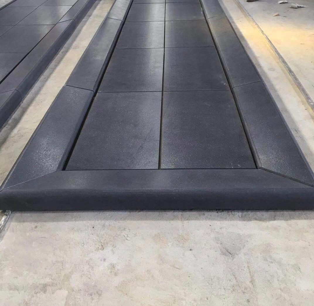 Sesame Black Leather Finish