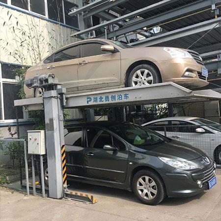 两层简易升降类停车设备