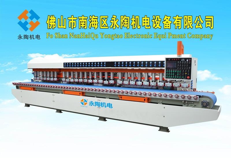 YCYP-2500型石英石台面板圆弧抛光机
