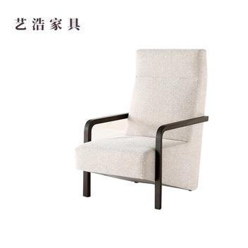 实木布艺椅子06