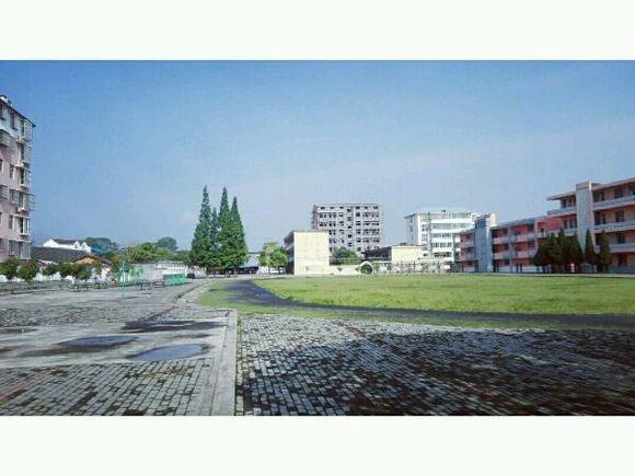 白槎中学校门