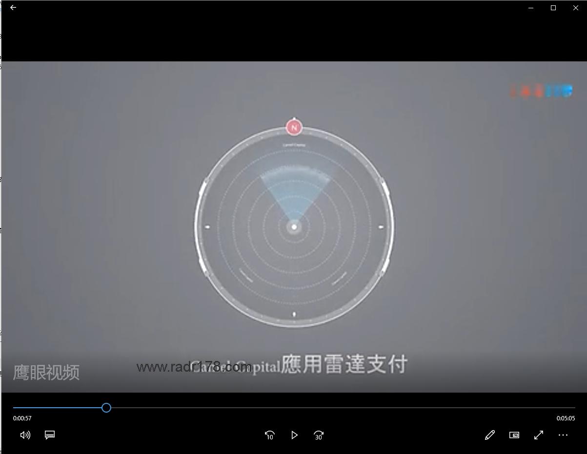 鹰眼基金旗下开发雷达应用