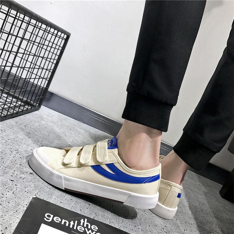 春夏新款帆布鞋男 低帮男鞋 韩版休闲鞋潮 学生运动板鞋