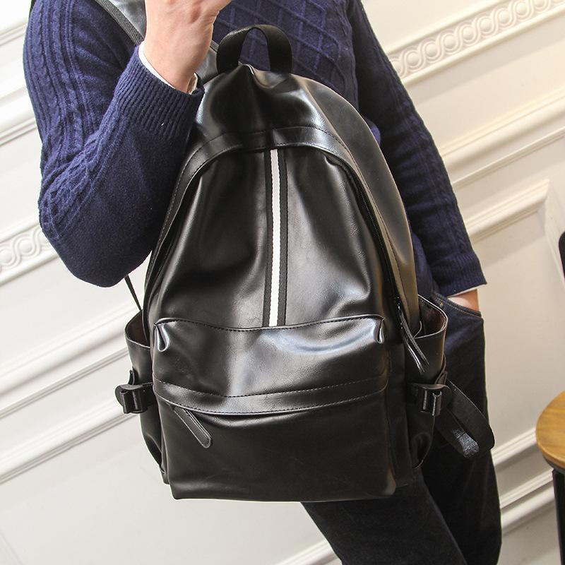 新款休闲双肩包 时尚潮流运动旅行电脑包 男士背包 韩版学生书包潮