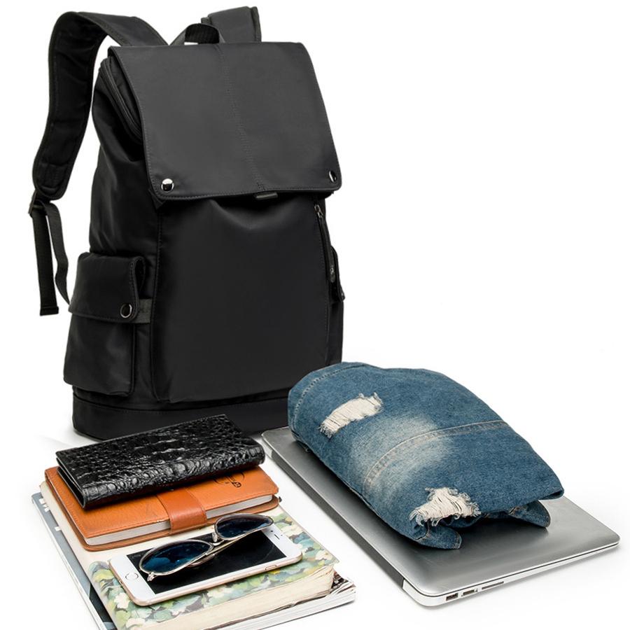 时尚潮流男士双肩包 男士背包 大容量旅行包 牛津布电脑包 时尚潮流学生书包