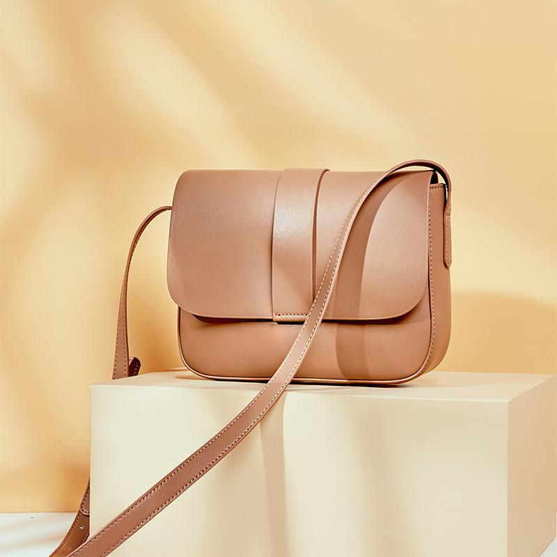 新款潮流 复古质感小方包 单肩包斜挎包 优雅女士包包