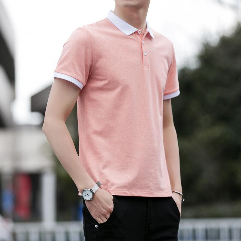 经典男装polo衫 短袖保罗翻领T恤衫男 夏季时尚休闲简约青年上衣男