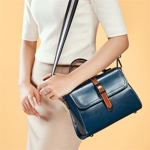 新款 复古情结轻奢搭盖小包 手提包 单肩包 斜跨女士包包