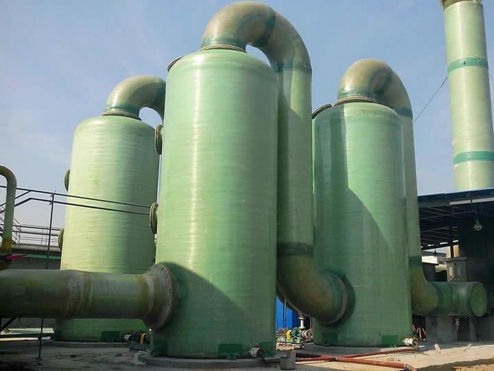 广西福斯特环保玻璃钢吸收塔