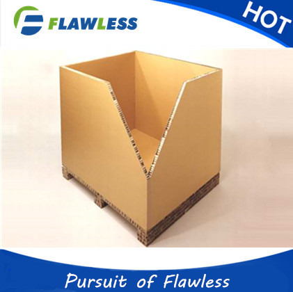 Honeycomb cardboard paper box