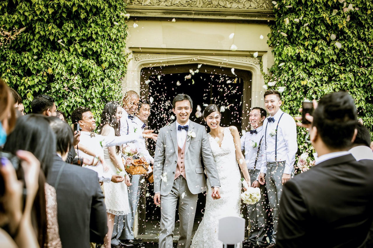 英國婚禮攝影,錄影及化妝服務