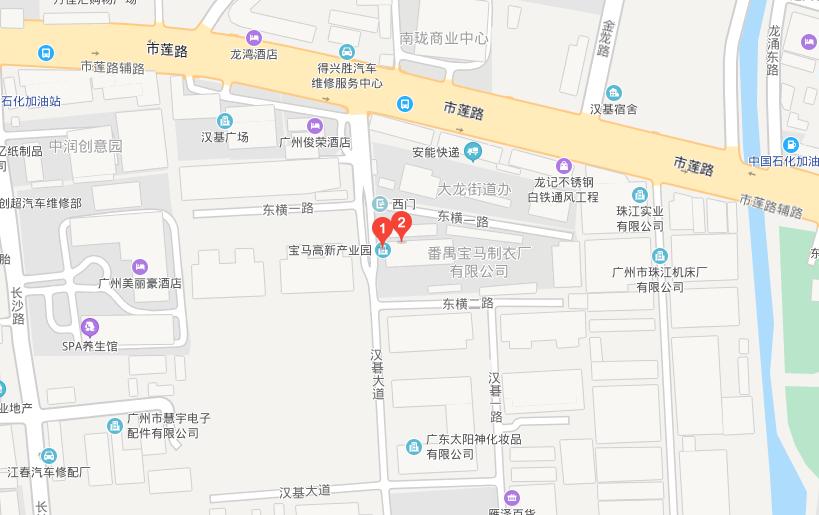 广州市番禺区汉碁大道3号宝马高新产业园A110
