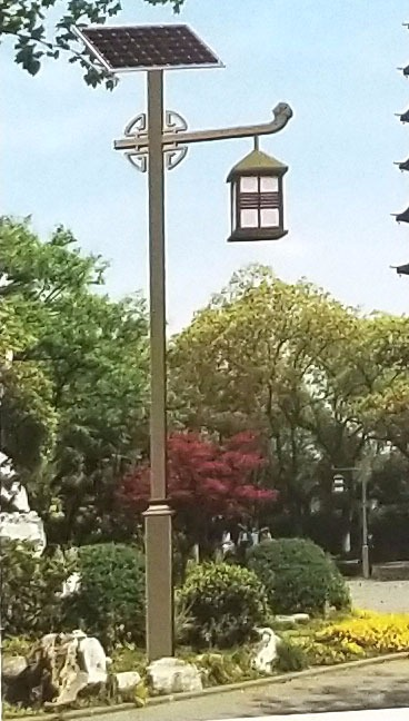太阳能公园灯