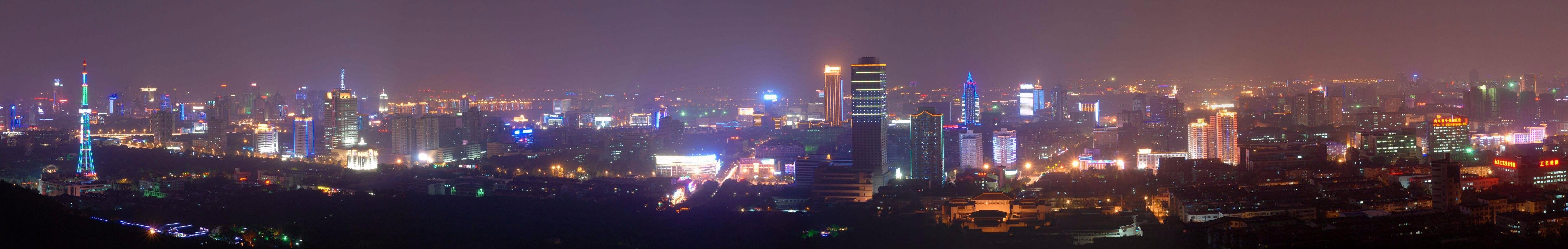 烛为家城市照明