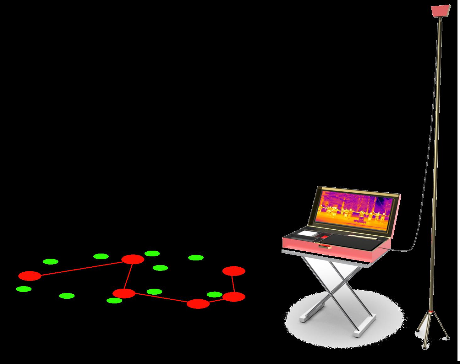红外测温仪人定位识别距离