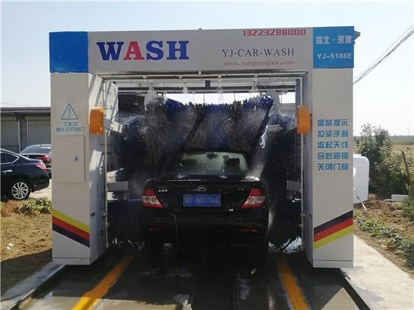 全自动龙门往复式洗车机|电脑洗车机