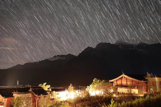雪山流星雨