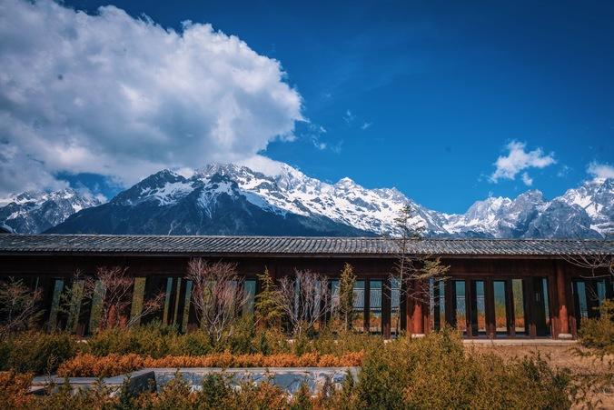 雪山美景相片