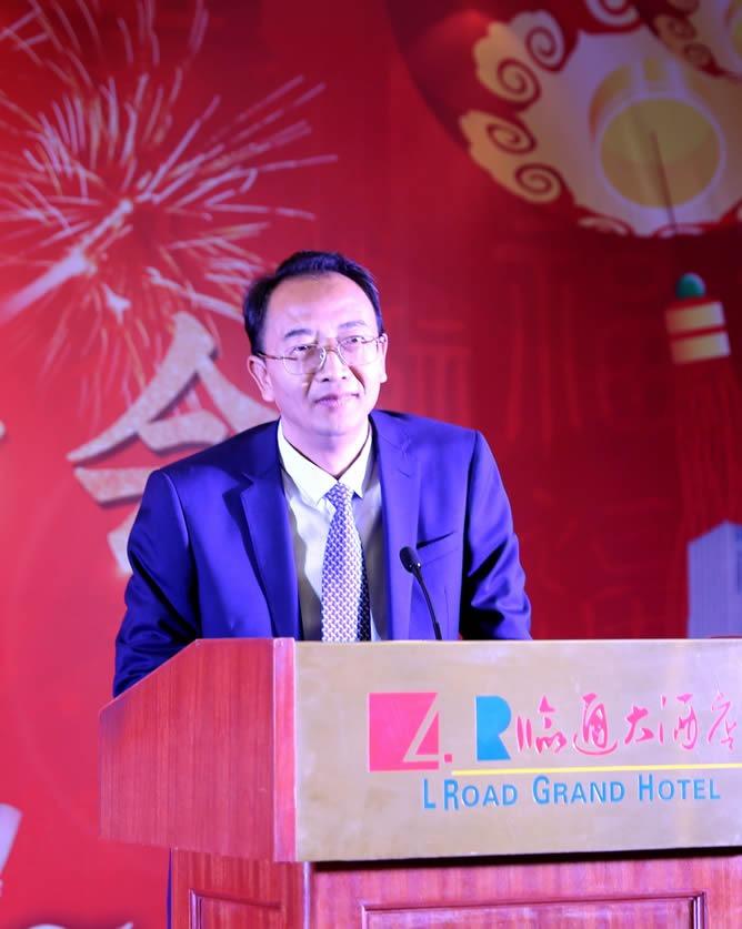 市委书记杨浩东出席茶话会并致辞