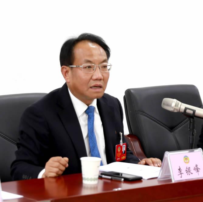 李银峰参加教科卫体委员会委员讨论组